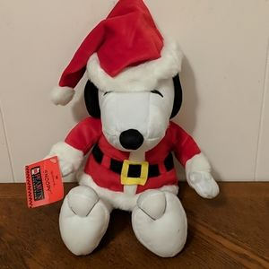 Hallmark Snoopy dressed as Santa plush 14 inches